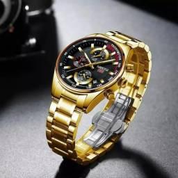 Relógio NIBOSI 2375 Dourado