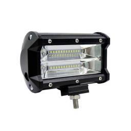 Farol de LED Retangular Agrícola 72w Unidade 12/24v