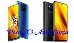 Xiaomi Poco X3 64 GB/6GB Ram Azul/Cinza