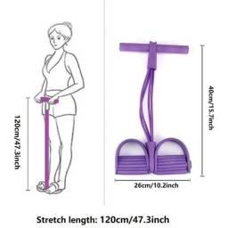 Extensor Elástico Para Exercícios Academia Ginástica Yoga Corda Elástica
