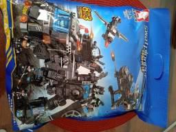 Lego Blocos de Montar Police Presente Swat Brinquedo