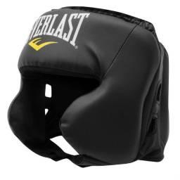 protetor de cabeça boxe muaythai everlast