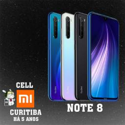 Note 8 Black ou Blue Preto ou Azul
