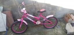 Título do anúncio: Bicicleta para criança de 4 a 6 anos