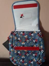 Bolsa de viagem e bolsa térmica do Mickey