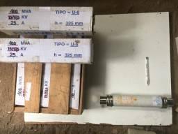 Fusivel MT 15kV- 400MVA - 25 a 40A