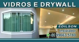Vidros e DRYWALL