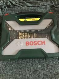 Maleta Bosch Seminova, porém faltando 7 peças,