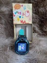 Relógio inteligente infantil GPS em até 15%