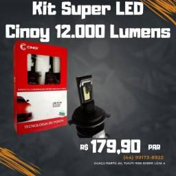 Super LED Cinoy 12.000 Lumens 12/24v PAR 6k