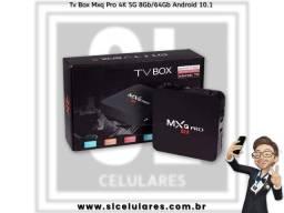 Tv Box Mxq Pro 4K 5G 8Gb/64Gb Android 10.1