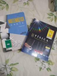 Livros matemática e fisica