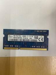 Memória Notebook SK Hynix 4GB