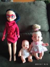 Lote bonecas