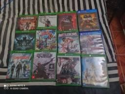 Lote de jogos para Xbox one com preço reduzido