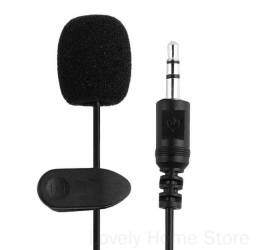 Microfone De Lapela Profissional Plug P2