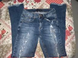 Calça Jeans Feminina - Tam. 38