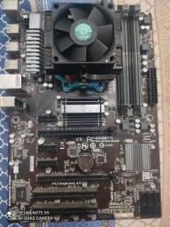 gigabyte ga-970a ds3p AM3+ fx6300 e fonte 650w