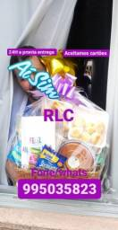 Cestas de café da manhã Manaus  RLC cestas completa dia das mamãe