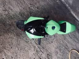 Mini moto modelo ninja 50cc 2t