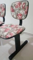 Cadeira decorativa c 2 lugares
