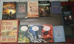 Vários Livros, Código Da Vinci, Trilogia Senhor dos Anéis.