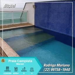 Alugo maravilhosa cobertura c/ piscina na praia dos Cavaleiros - Macaé/RJ