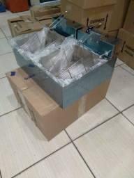 Fritadeira Elétrica de 1 e 2 cubas - Novas e com garantia