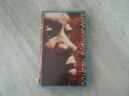 Fita VHS Milton Nascimento-A Sede do Peixe