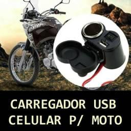 Carregador de Celular ( Moto ) USB