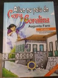 Vendo livro ALICE NO PAÍS DE CORA CORALINA