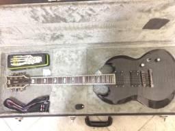 ESP/LTD Viper Deluxe 1000 (Modelo SG) acompanha Case