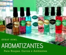 Spray perfumado para Roupas, Ambientes, Carros, Capacetes