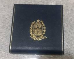 Medalha comemorativa rio eco 92