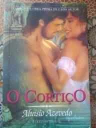 """Livro """"O cortiço"""", de Aluísio Azevedo"""