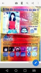 Título do anúncio: RV22-Telas para Pias-Previne entupimento