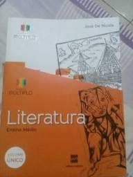Livro de Literatura volume único.