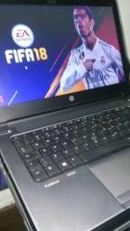 Notebook HP core i5 com garantia e no cartão