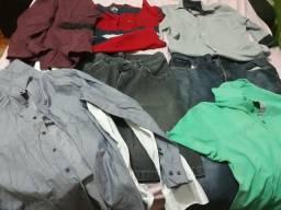 Lote de roupas masculino