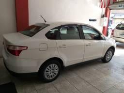 Fiat grand siena com gnv troco e financio aceito carro ou moto maior ou menor valor - 2014