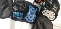 Pedaleira vamp2 guitarra behringer com pedal