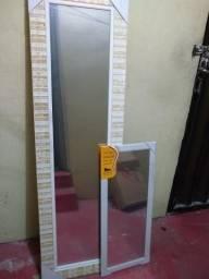 Espelhos o kit a $150  *)