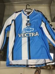Camisa Grêmio kappa 2001 manga longa