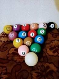 Jogo de bolas para bilhar