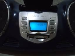 MIcro-system portátil CD/MP3/AM/FM/USB/CARTÃO SD/MMC