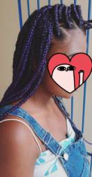 Tranças , box braids