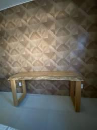 Aparador rustico todo em madeira de piquiá