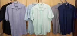 Camisas Manga Curta pacote com 7 unidades