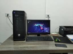 PC Gamer I3 3.10Ghz RX550 4gb de video, 6gb de Ram e 2TB Hd