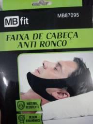 Faixa de cabeça anti-ronco